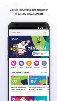 Vidio - Nonton Video, TV & ASIAN Games poster
