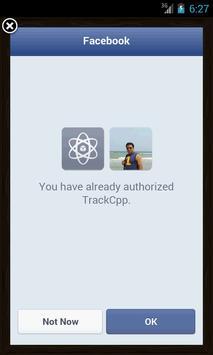 Track Cpp apk screenshot