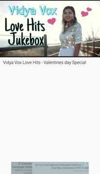 Vidya Vox Songs App VIDEOs screenshot 4
