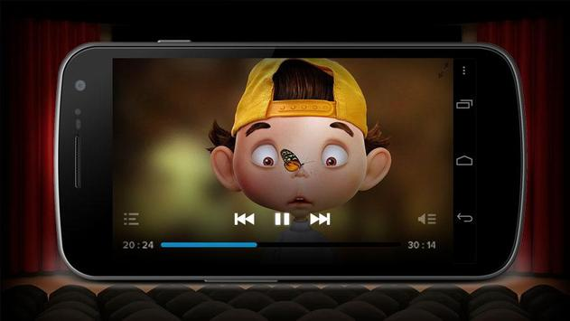 Video Player HD for Android screenshot 1