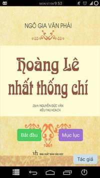 Hoàng Lê Nhất Thống Chí poster