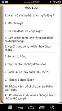 Phong tục Việt Nam - Hay apk screenshot