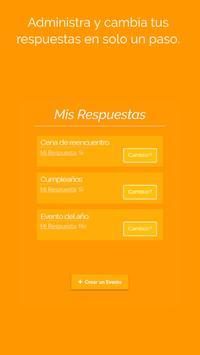 Vienes? - Organiza fácil tus Eventos por Whatsapp apk screenshot