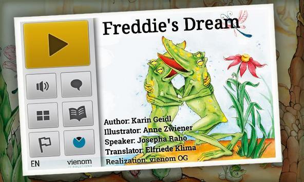 Freddie's Dream | KidsBookDemo apk screenshot