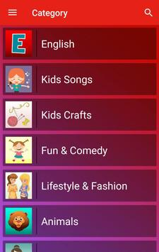Tube Kids - Youtube for kids screenshot 1