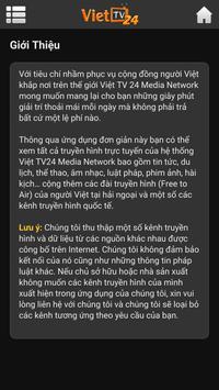 Viet TV24 Cast apk screenshot