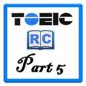 Learn TOEIC Part 5 icon