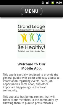 GL Building Healthy Communties poster