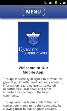 Knights of Peter Claver poster
