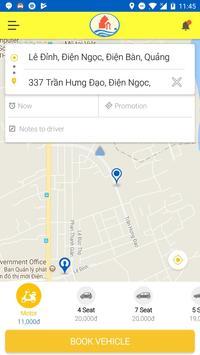 Thu Bon Taxi screenshot 2