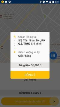 Quyết Tiến Taxi Tài Xế screenshot 4
