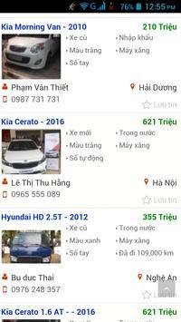 xe ô tô cũ Việt Nam screenshot 1