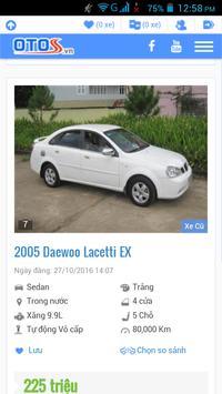 xe ô tô cũ Việt Nam screenshot 20