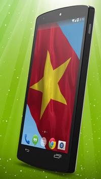 Vietnamese Flag Live Wallpaper poster