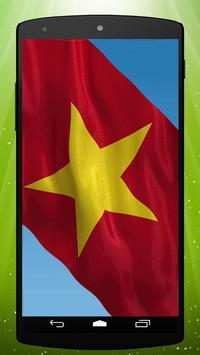 Vietnamese Flag Live Wallpaper apk screenshot