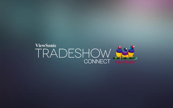 ViewSonic Tradeshow Connect poster