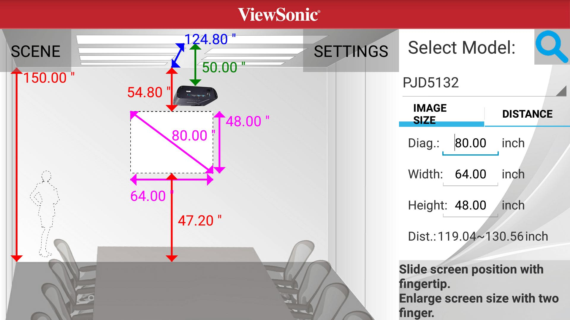 ViewSonic Projector Distance for Android - APK Download