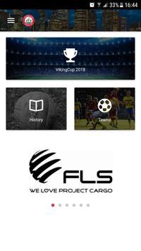 VikingCup Football Tournament poster