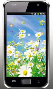 Camomile Flower live wallpaper screenshot 1