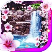 Sakura Waterfall livewallpaper icon