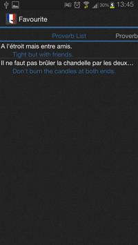French Proverbs apk screenshot