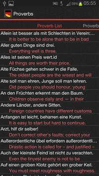 German Proverbs apk screenshot