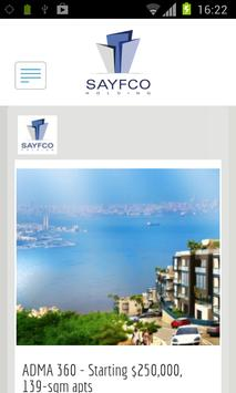 Sayfco poster