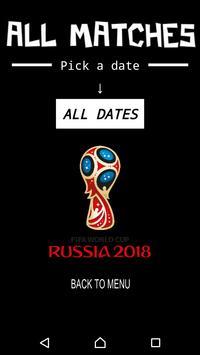 WORLD CUP 2018 screenshot 1
