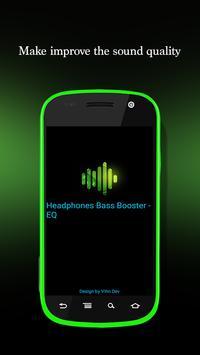Headphones Bass Booster - EQ poster