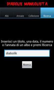 Mankolista DiabolikA apk screenshot