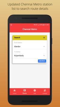 Chennai Metro screenshot 1