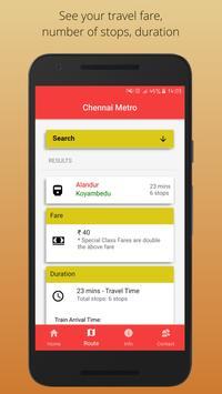 Chennai Metro screenshot 2