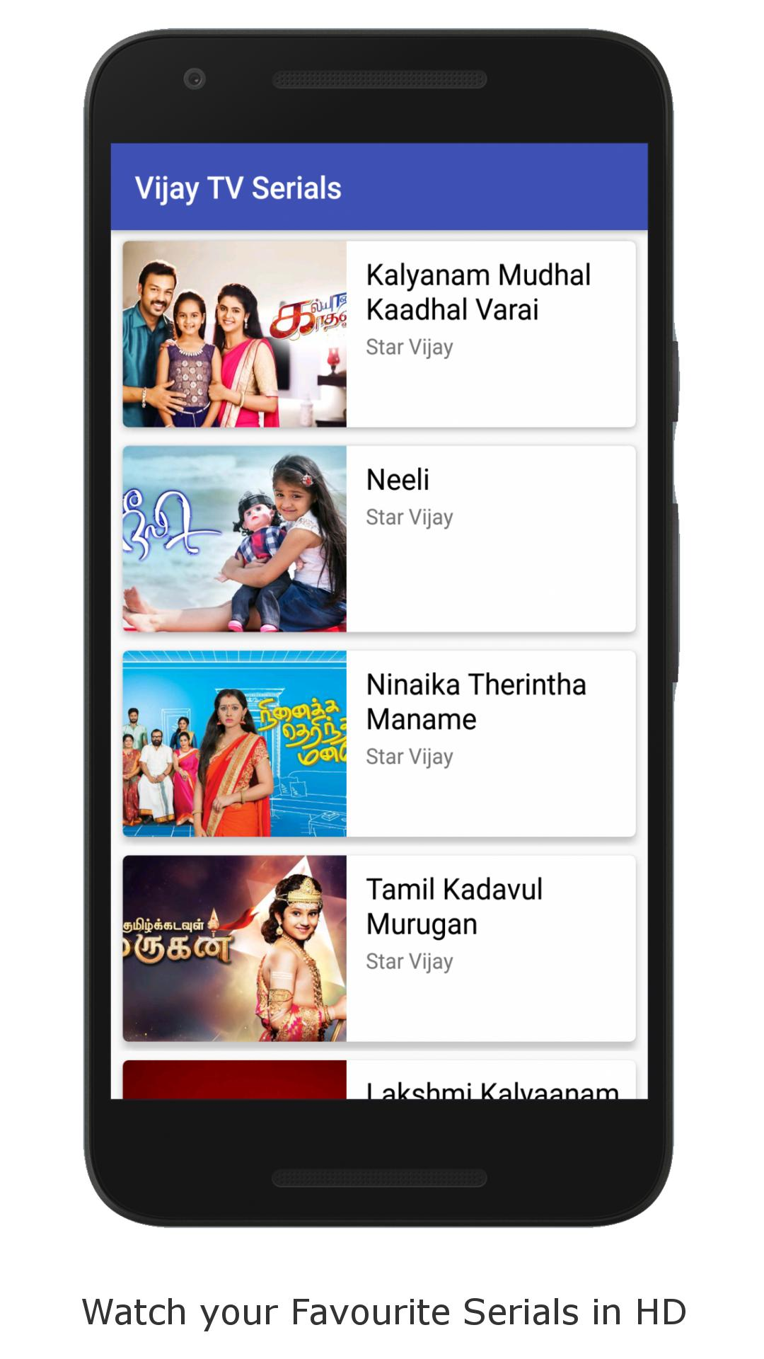 Vijay TV for Android - APK Download