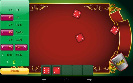 Yatzy Dice Mania apk screenshot