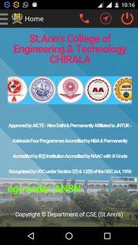 ST.ANN'S COLLEGE :: CHIRALA poster