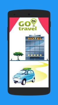 GoTravel : Book cabs, hotel, flights, bus poster