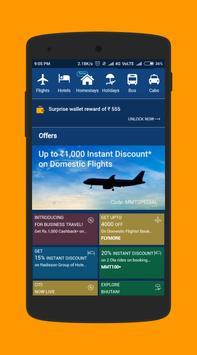 GoTravel : Book cabs, hotel, flights, bus apk screenshot