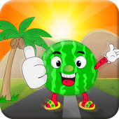 Watermelon Run 3D icon