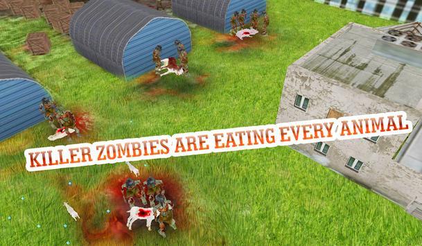 Goat Vs. Zombies 3D Simulator poster