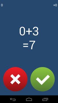 Freaking Math Quiz screenshot 1