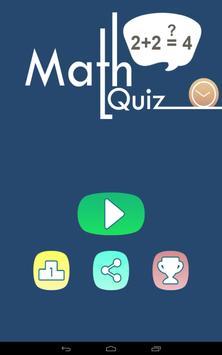 Freaking Math Quiz apk screenshot
