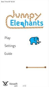 Jumpy Elephants poster