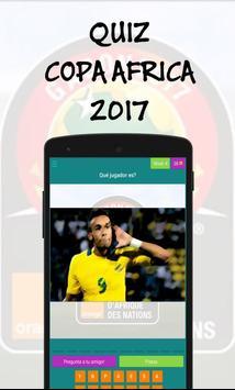 Quiz Copa Africa 2017 poster