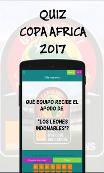 Quiz Copa Africa 2017 screenshot 1