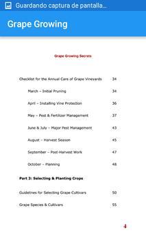 Grape Growing Secrets apk screenshot