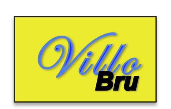 Villo Bxl poster