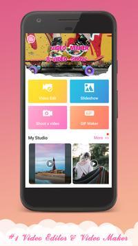 Vimady: Video Editor & Video Maker, Gif, Sticker poster