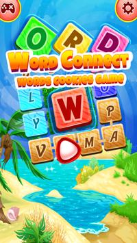 Word Connect : Words Cookies Game poster