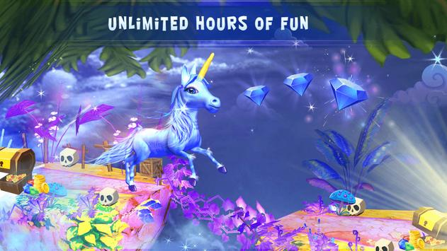 Little Unicorn Pony Runner screenshot 8