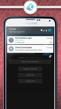Video Downloader For Vimeo Pro apk screenshot